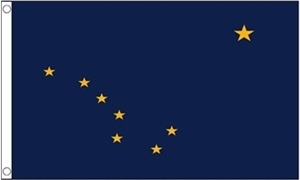 Image of   Alaska Flag (90x150cm)