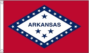 Image of   Arkansas Flag (90x150cm)