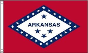 Image of   Arkansas Flag (90x150cm)