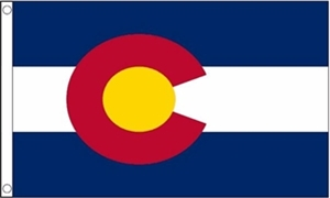 Image of   Colorado Flag (90x150cm)