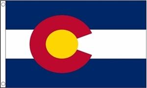 Image of   Colorado Flag (90x150cm)