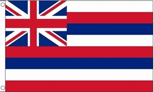Image of   Hawaii Flag (90x150cm)