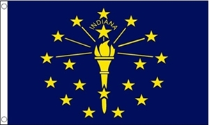 Image of   Indiana Flag (90x150cm)