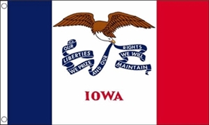 Image of   Iowa Flag (90x150cm)