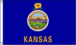 Image of   Kansas Flag (90x150cm)
