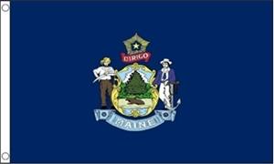 Image of   Maine Flag (90x150cm)
