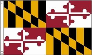 Image of   Maryland Flag (90x150cm)
