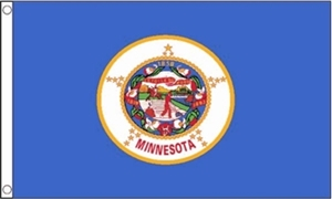 Image of   Minnesota Flag (90x150cm)