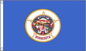 Image of   Minnesota Flag (90x150cm)