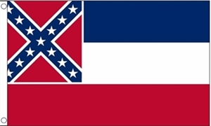 Image of   Mississippi Flag (90x150cm)