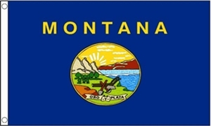 Image of   Montana Flag (90x150cm)