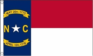 Image of   North Carolina Flag (90x150cm)