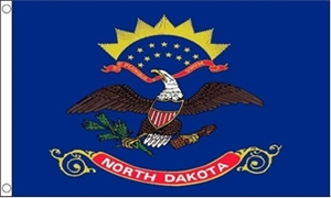Image of   North Dakota Flag (90x150cm)
