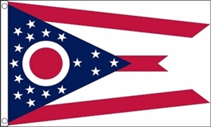 Image of   Ohio Flag (90x150cm)