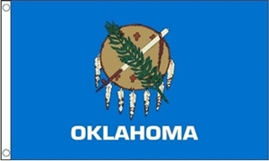 Image of   Oklahoma Flag (90x150cm)