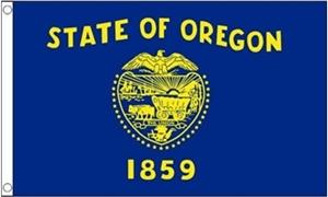 Image of   Oregon Flag (90x150cm)