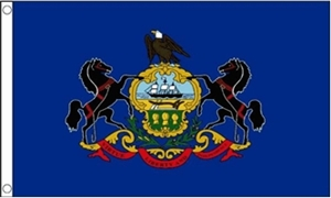 Image of   Pennsylvania Flag (90x150cm)