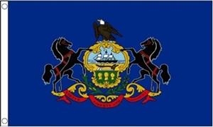 Image of   Pennsylvania Flag (90x150cm)