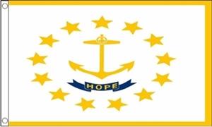 Image of   Rhode Island Flag (90x150cm)