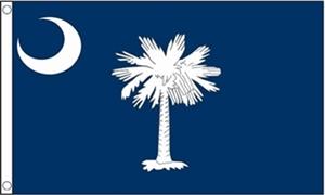 Billede af South Carolina Flag (90x150cm)
