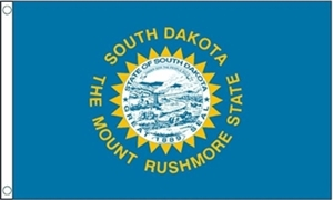 Image of   South Dakota Flag (90x150cm)