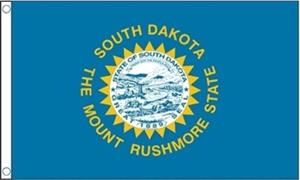 Image of   South Dakota Flag (90x150cm)