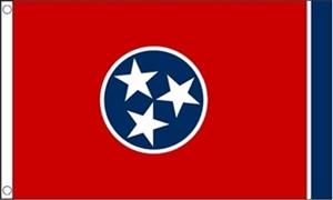 Billede af Tennessee Flag (90x150cm)