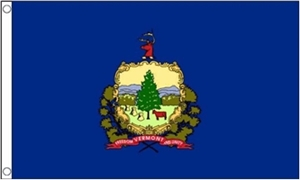 Image of   Vermont Flag (90x150cm)