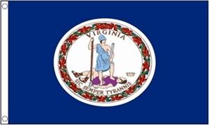 Image of   Virginia Flag (90x150cm)