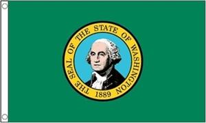 Billede af Washington Flag (90x150cm)