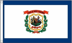 Image of   West Virginia Flag (90x150cm)