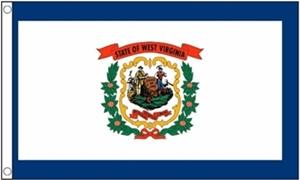 Image of   West Virginia Flag (90x150cm)