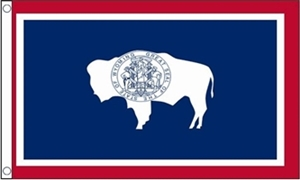 Image of   Wyoming Flag (90x150cm)