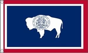 Image of   Wyoming Flag (90x150cm)