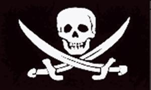 Image of   Jack Rackham - Pirat Flag (90x150cm)