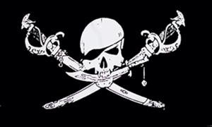 Billede af Brethren of the Coast - Pirat Flag (90x150cm)