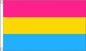 Image of   Pansexual Flag (90x150cm)