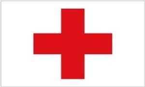 Image of   Røde Kors Flag (90x150cm)