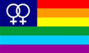 Image of   Rainbow Venus Flag (90x150cm)
