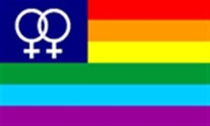 Image of   Rainbow Venus Flag (90x150cm)