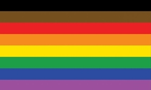 Image of   More Colour More Pride Flag (90x150cm)