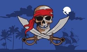 Image of   Pirate Night Sky Flag (90x150cm)