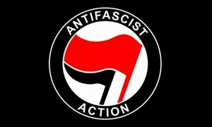 Image of   Antifascist Flag (90x150cm)