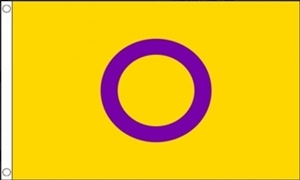 Image of   Intersex Pride Flag (90x150cm)