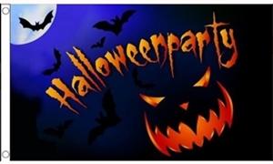 Image of   Halloween Party Pumpkin Flag (90x150cm)