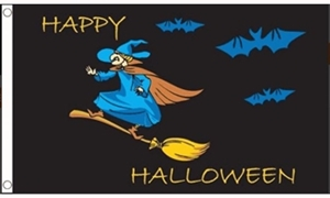 Image of   Halloween Witch Flag (90x150cm)