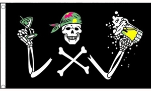 Image of   Pirate Beer Flag (90x150cm)