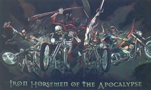 Image of   Iron Horsemen (90x150cm)