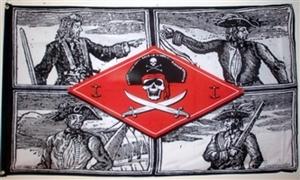 Image of   Skulls - Pirat Flag (90x150cm)