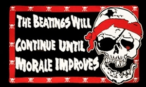 Image of   Pirate Beatings - Pirat Flag (90x150cm)